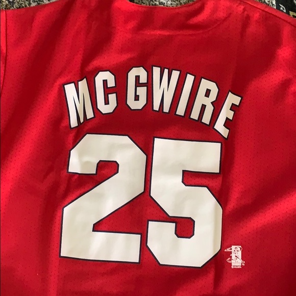 online store af7f1 affb5 St. Louis Cardinals Mark McGwire Jersey XL